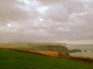 Whitby Ruins in Distance